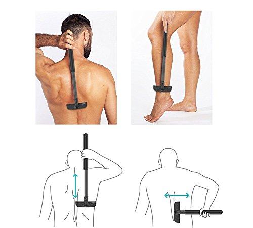 Stretchable Back Shavers for Men Back Hair Trimmer Back - The Razor Ban