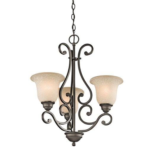 Kichler Lighting 43223OZ 3-Light Chandel - Olde World 20 Light Shopping Results