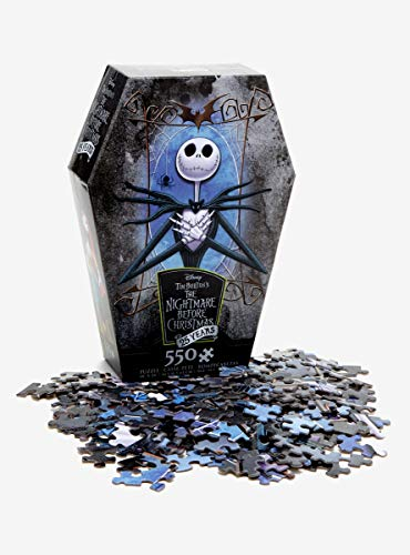 Hot Topic The Nightmare Before Christmas 25 Years Jack Skellington Puzzle -