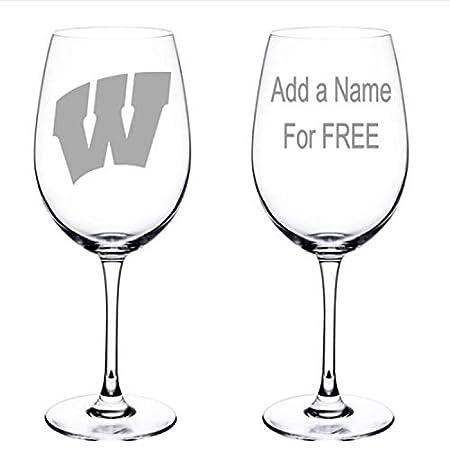 Copa de vino grabada personalizada, personalizada, para la ...