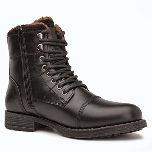 Global-Win-GLOBALWIN-Mens-Fashion-Lace-Up-Cap-Toe-Winter-Ankle-Combat-Boots