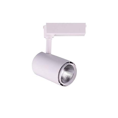 COB Led Luz de riel 30W Aluminio 220 V Riel de techo ...