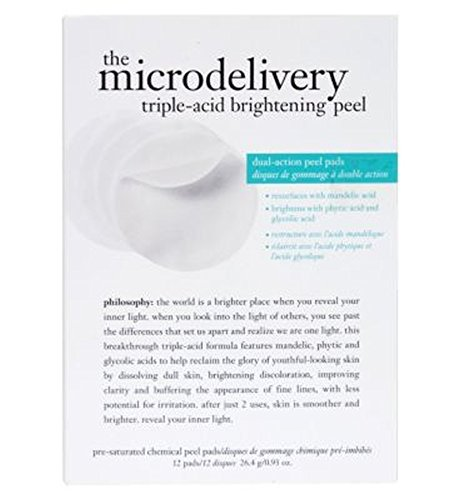 philosophy the microdelivery triple-acid brightening peel - 哲学ミクロ送達トリプル酸増白皮 (Philosophy) [並行輸入品]   B01M7Y9R1C