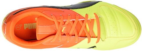 Puma Gavetto Sala - zapatillas de fútbol de material sintético hombre Amarillo - Gelb (safety yellow-puma Black-SHOCKING Orange 14)
