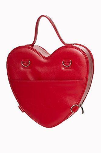 Red Banned Banned Handbag Vintage Lala Lala dOXqBd8