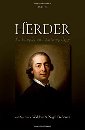 Herder: Philosophy and Anthropology