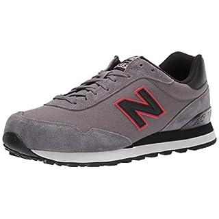 New Balance Men's 515 V1 Sneaker, Castlerock/Black, 7 XW US