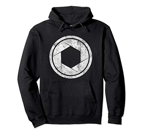 CAMERA SHUTTER - photography photographer lens Hoodie. (Canon Lens Hoodie)