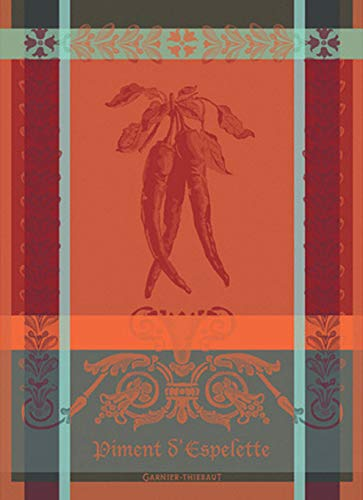 Garnier Thiebaut Towel - Garnier Thiebaut 33232 Piment D'Espelette Epices Kitchen Towel, 22