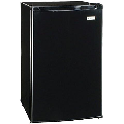 Magic Chef MCBR445B2 Refrigerator with Push-Button Defrost