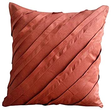 Amazon Orange Pillow Covers 40x40 Inches Rust Pillow Cases Magnificent Rust Colored Decorative Pillows