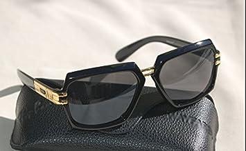 68e6b8ccbb Cazal Style 1 Evidence Billionaire Black   Gold Sunglasses + Case + ...