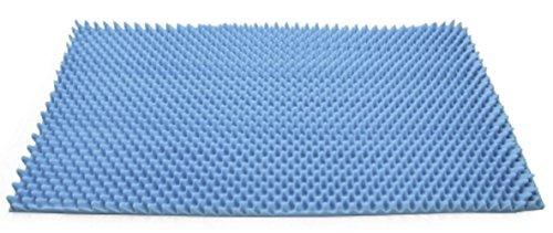 McKesson - Mattress Overlay - Convoluted Foam - 33 X 72 X 2 Inch-McK