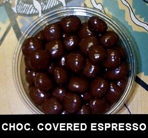 Dark Chocolate Covered Espresso Beans 5 Pounds