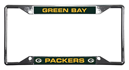 NFL Green Bay Packers Chrome Plate Frame Nfl License Plate Frame