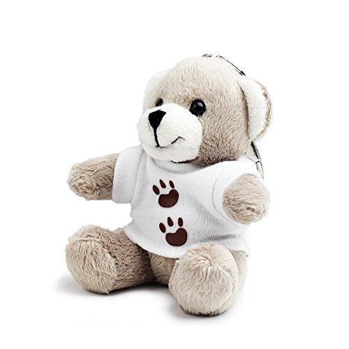 Bear of Allan Stuffed Animal Teddy Bear Keychain 3.54 Inch (T-Shirt)