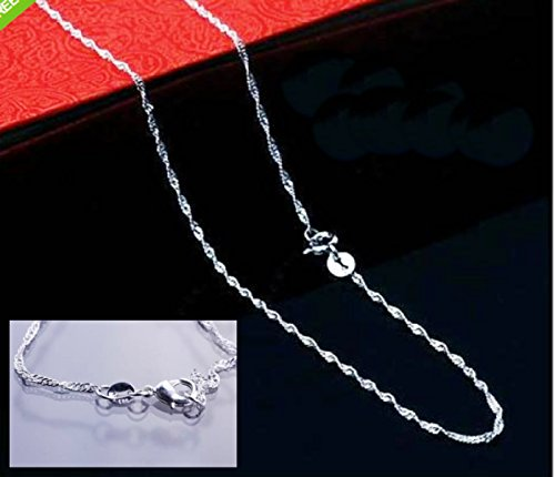 Sterling Silver Necklace lobster elegant