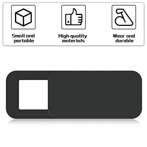 Peanutaod T10 3 ST/ÜCKE Rechteck Kunststoff Webcam Abdeckung ultrad/ünne Privacy Protector Kamera Shutter Aufkleber F/ür Telefon Tablet Notebook Desktop