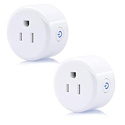 Qida Updated WiFi Smart Plug Wireless Smart Outlet Mini