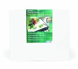 Camco 43707 Decor Mate Stove Topper (White)