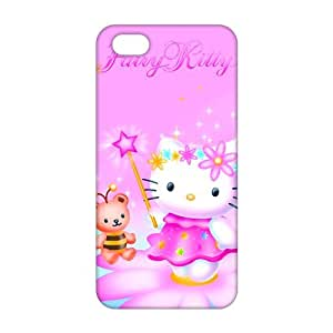 Lovely pink Kitty 3D Phone Case for iPhone 5s