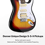 Donner DST-102S Solid Body 39 Inch Full-Size