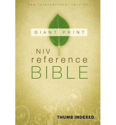 Download NIV Reference Bible, Giant Print by Zondervan (2011) Hardcover pdf epub