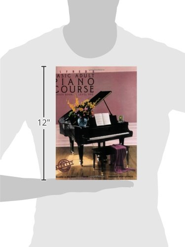 Alfred's Basic Adult Piano Course: Lesson Book, Level One: Willard ...
