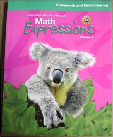 Math Expressions, Grade 1: Homework and Remembering: HOUGHTON ...