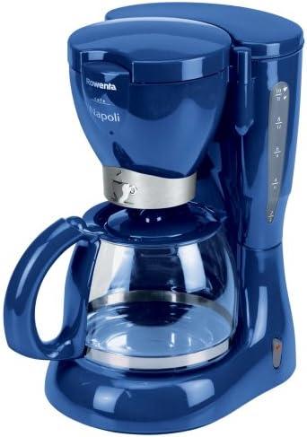 Rowenta CG 104 – Cafetera, cobaltblau, jarra de cristal con scharniertem Tapa: Amazon.es: Hogar