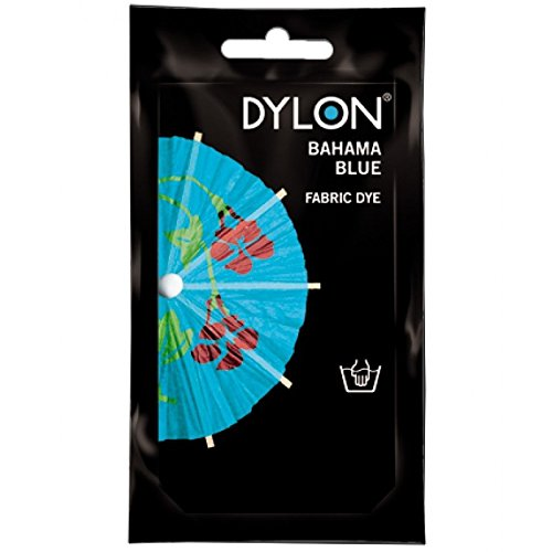 50g Dylon Hand Fabric Dye Bahama Blue Discount DIY Tools