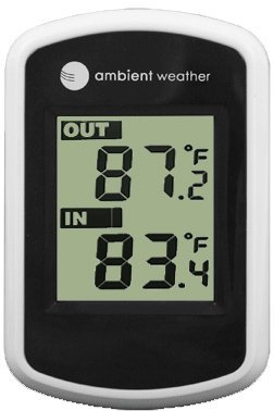 Ambient Weather WS-42 Wireless Thermometer with Indoor Temperature and Floating Pool and Spa Thermometer