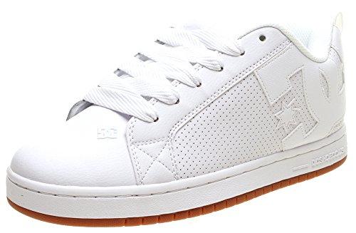 DC Shoes Court Graffik, Zapatillas para Hombre White