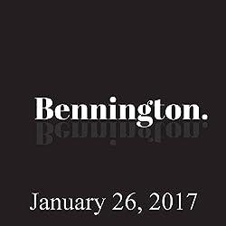 Bennington, January 26, 2017