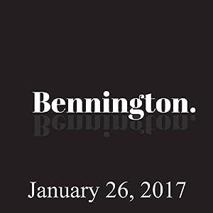 Bennington, January 26, 2017 Radio/TV Program