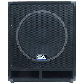 15 Inch Unpowered Passive Subwoofer Cabinet - 300 Watts
