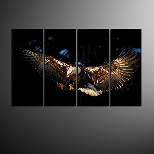 Eagle Canvas Paintings Living 48 inches product image
