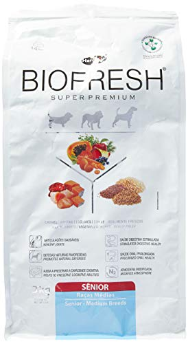 Ração Hercosul Biofresh Para Cães Idosos de Médio Porte, 3kg