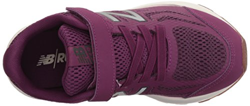 New Balance Girls' 519v1 Hook and Loop Running Shoe, Imperial/Phantom, 2 M US Infant by New Balance (Image #7)
