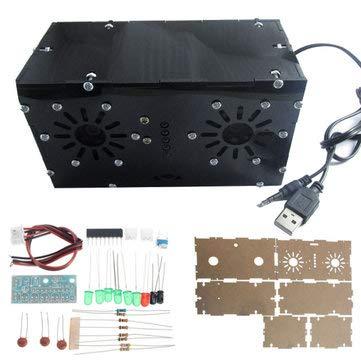Arduino Compatible SCM & DIY Kits Arduino Compatible Kits & DIY Kits - DA2822M Power Amplifier Kit KA2284 Level Indicator Module BTL USB Power Supply Audio Speaker