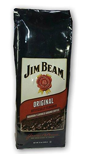 Jim Beam Original Bourbon Flavored Ground Coffee - 12oz Bag
