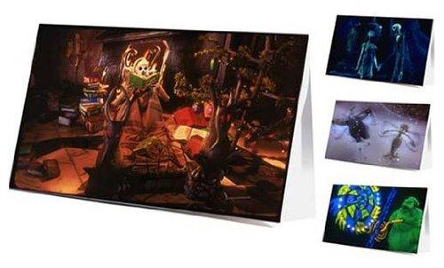 Neca Nightmare Before Christmas Greeting Card Set of 12 4 -