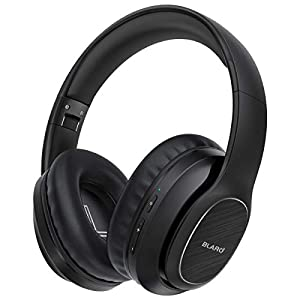 Best Epic Trends 417TOfI6AUL._SS300_ BLARO Bluetooth Headphones Over Ear, Hi-Fi Deep Bass Wireless and Wired Headsets, 72 Hours Playtime, Soft Memory Protein…