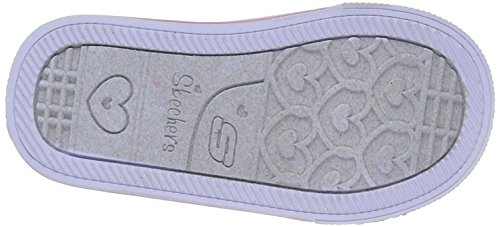 Skechers Twinkle Toes S Light Shuffles Glitzy Games 10729NGDPK, Basket