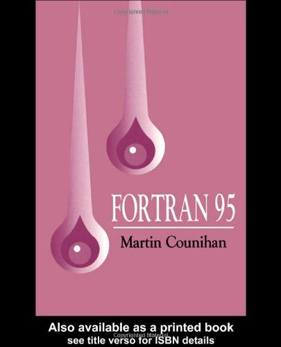 Fortran 95 by CRC Press