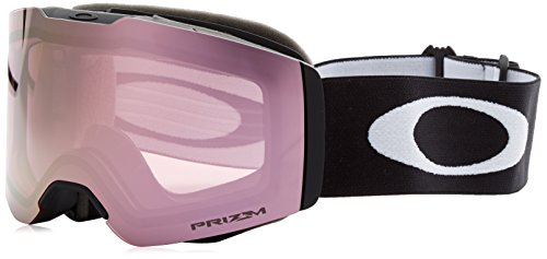 Oakley Fall Line Snow Goggles, Matte Black Frame, Prizm High Intensity Pink Iridium Lens, ()