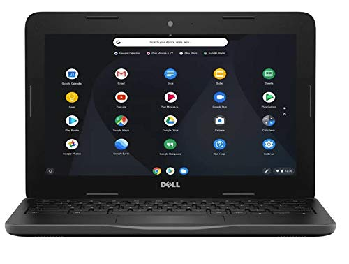 2019 New Dell Inspiron 11 Chromebook , 11.6' HD Non-Touchscreen Display, Intel Celeron Dual Core N3060 Processor, 4GB Ram, 16GB eMMc Flash Memory, WiFi, HDMI, USB3.0, Chrome OS