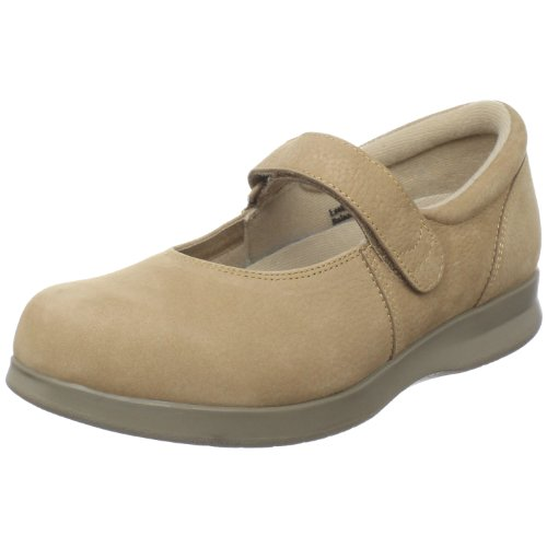 Drew Shoe Women's Bloom II Mary Jane,Taupe Nubuck,8 WW US