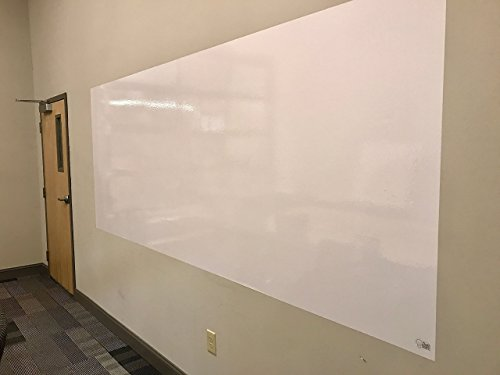 Think Board Premium Whiteboard Film, Peel and Stick, X-Large, White by Think Board