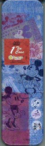 (Sandylion Disney Mickey Mouse Vintage Pen and Pencil Tin)